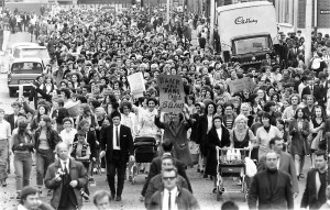 הפגנה של נשות אירלנד בעד השלום, 1970
