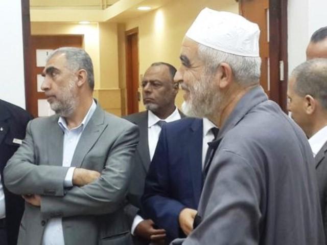 שיח' ראאד סלאח בעת המשפט (צילום פיסבוק)
