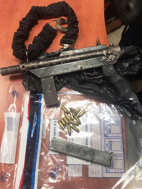 הנשק שנתפס (צילום: משטרת ישראל)