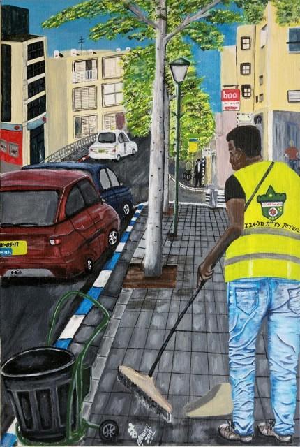 אפוורקי טועמה - ציורים של מבקש מקלט בישראל