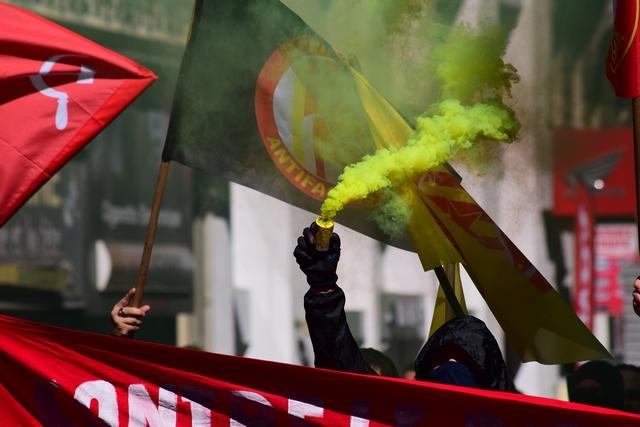 הפגנות בצרפת