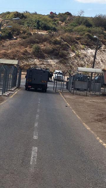 מחסום סאלם  (צילום: דוברות המשטרה)