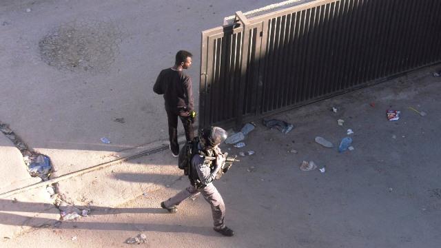 הפשיטה (צילום: משטרת ישראל)