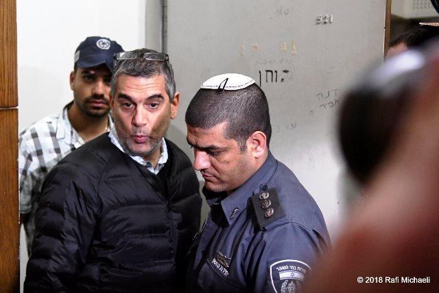 קמיר בהארכת מעצרו (צילום: רפי מיכאלי)