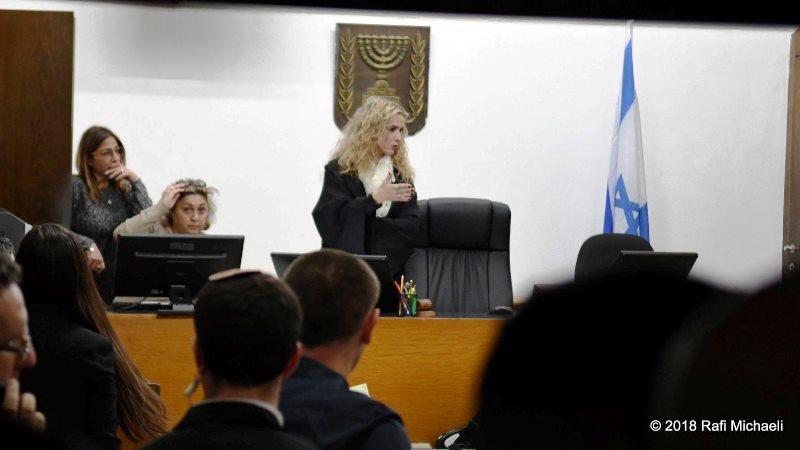 שופטת המעצרים רונית פוזזנסקי-כץ (צילום: רפי מיכאלי)