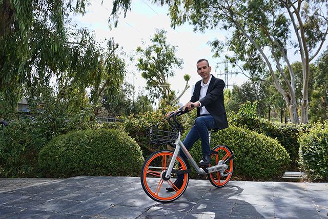 MOBIKE (מובייק) ענקית האופניים השיתופיים הסינית בישראל
