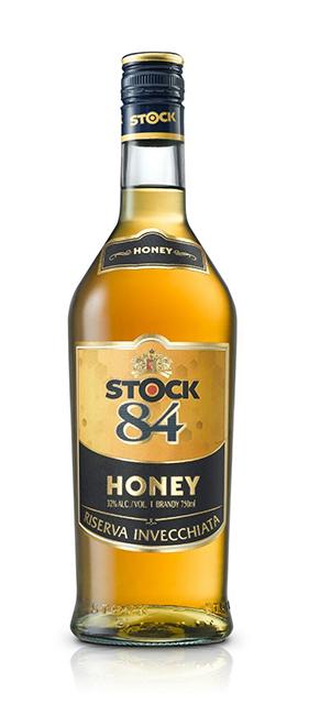 הברנדי המוכר עכשיו בטעם דבש 'STOCK 84 HONEY'