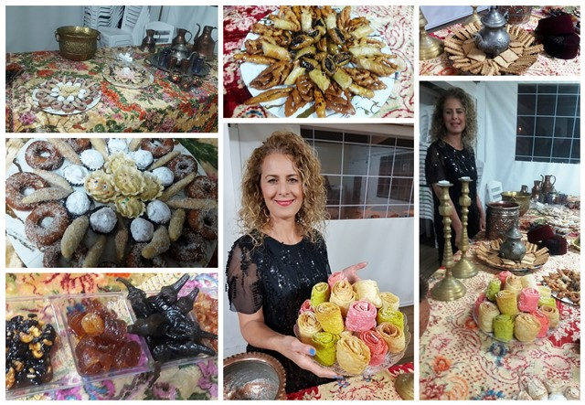 סוניה - מתוקים מרוקאים - הכי טעימים שאכלתי