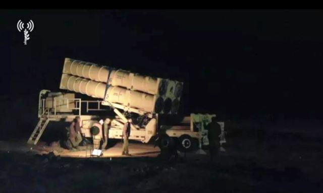 """פריסת כיפת ברזל בגבול הצפון (צילום: דובר צה""""ל)"""