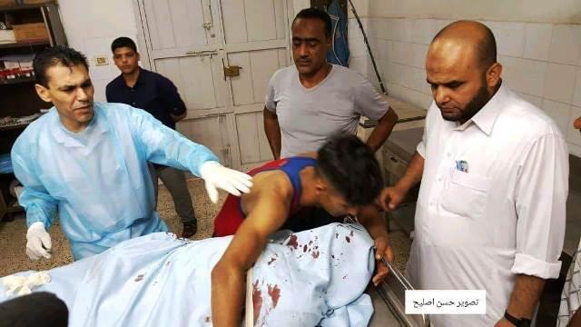 אחד הפלסטינים שנהרג (על פי דיווח פלסטיני) צילום: תקשורת פלסטינית