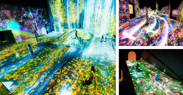 MORI DIGITAL ART MUSEUM - מוזיאון חדש בטוקיו