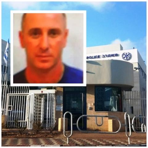 תמונת החשוד- משטרת ישראל.  צילום תחנת נהריה - גוגל מפות