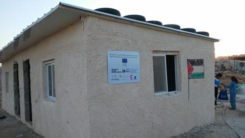 מבנה בית הספר שנהרס