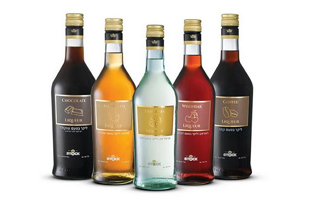 עיצוב חדש לבקבוקי הליקרים של STOCK