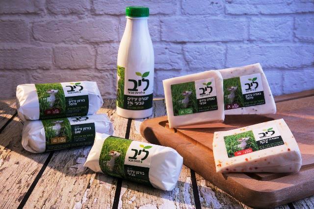 סדרת גבינות עזים ליב (צילום: שי נייבורג)