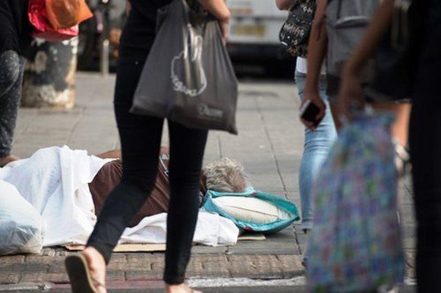 צילום ארכיון מאתר פייסבוק למחוסרי בית בדרום תל אביב