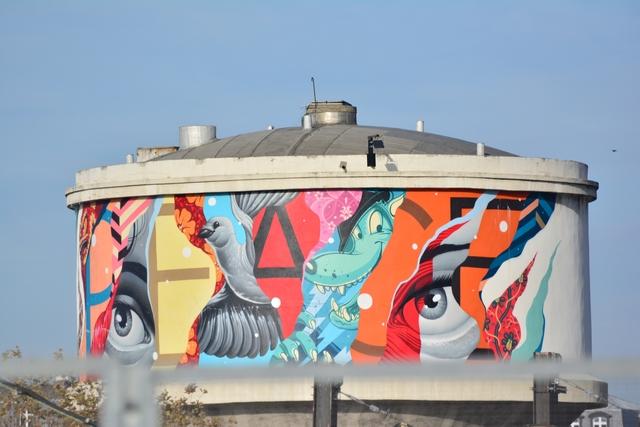 ציורי קיר בפאריס