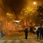 אין רחוב אחד שלא עברו בו מפגינים, שוטרים ו...כבאים- צילום: עמית מנדלזון
