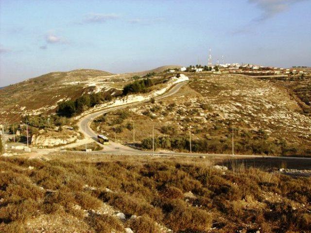חומש לפני פינויה (צילום ארכיון: המועצה האזורית שומרון)