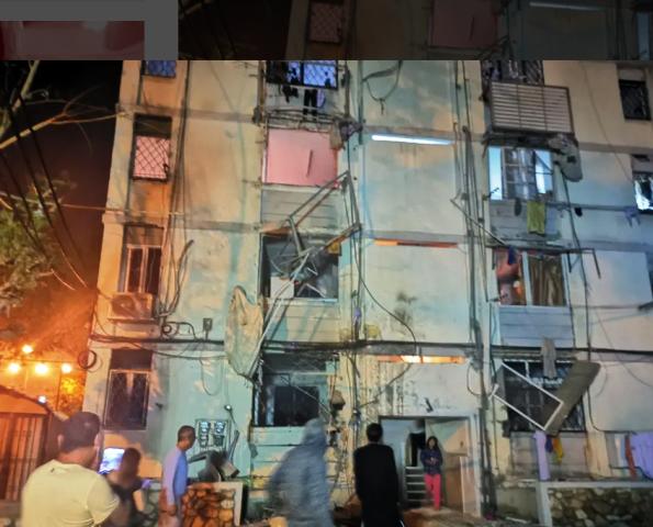 בית שנפגע באשקלון (צילום: קבוצת במת החדשות)