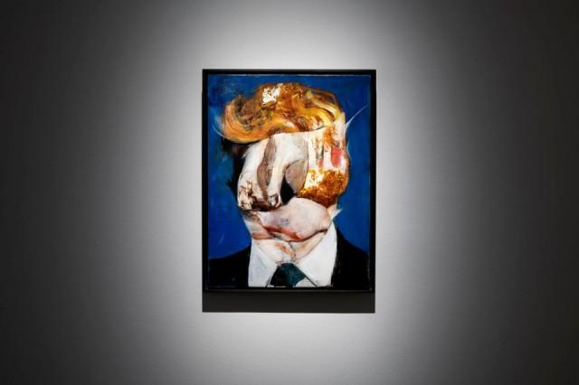 אמנים מוחים נגד טראמפ בביאנלה לאמנות ונציה 2019