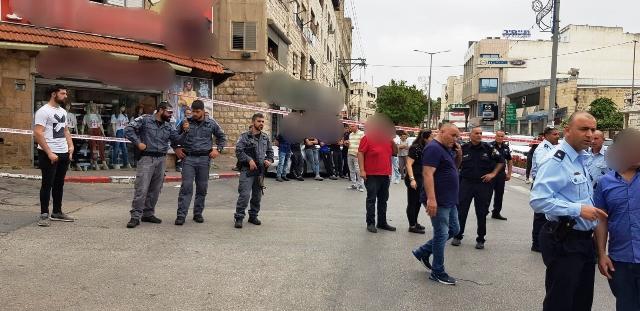 זירת הרצח (צילום משטרת ישראל)