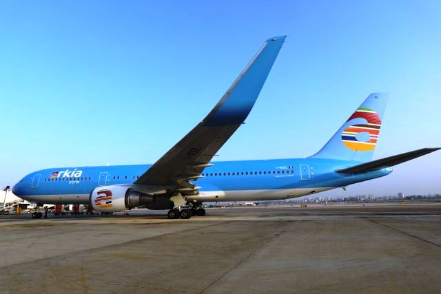 "ארקיע - בואינג 767 (צילום: יח""צ)"