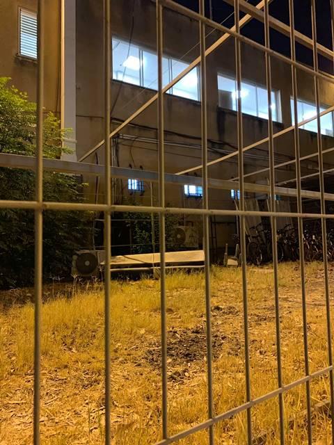 חצר תחנת פתח תקוה (צילום: אורנה אננג'ל)