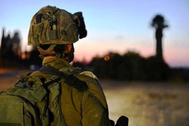 """מפקד גדוד 12 בגולני (צילום: דובר צה""""ל)"""