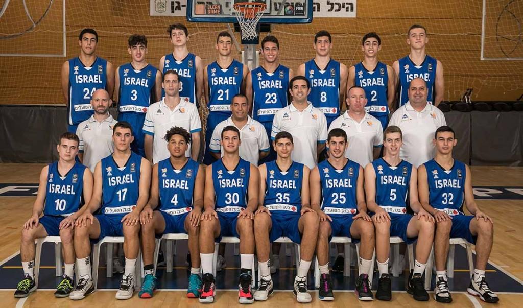נבחרת הקדטים בכדורסל. צילום: עודד קרני, איגוד הכדורסל