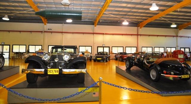 אוסף המכוניות של איתן ורטהיימר במוזיאון תפן (צילומים: אתר המוזיאון)