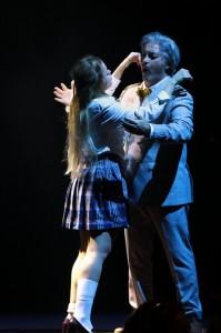 דומיניקו בלצאנו (ריגולטו) וורוניקה ברוק (גי'לדה), קרדיט אלעד זיגמן