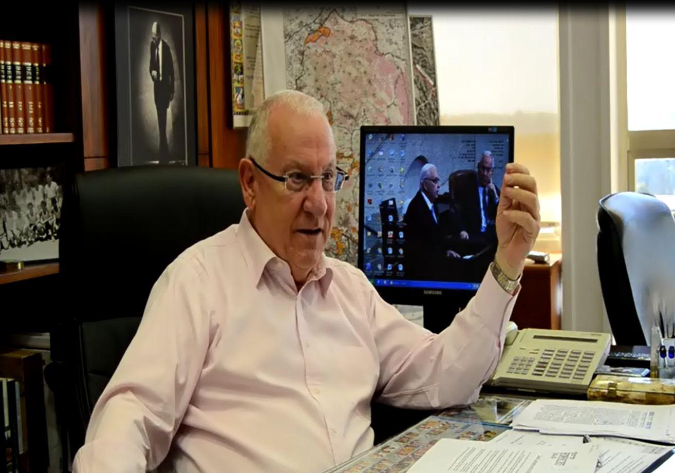 """יו""""ר הכנסת ראובן ריבלין מעריך: הבחירות יוקדמו. מזהיר מפני מלחמת תרבות, חרד מהפגיעה בעיתונות ובחופש הביטוי"""