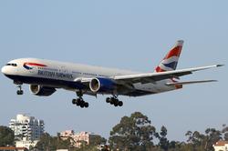 מטוס בואינג 777 של בריטיש איירווייס. שירות מלא בטיסות לישראל