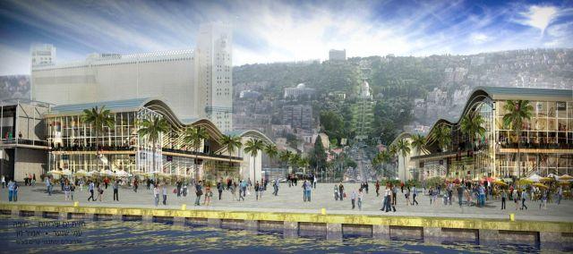 """""""קמפוס הנמל"""" וחזית הים בחיפה הם זוכי אות העיצוב העירוני ל-2012"""