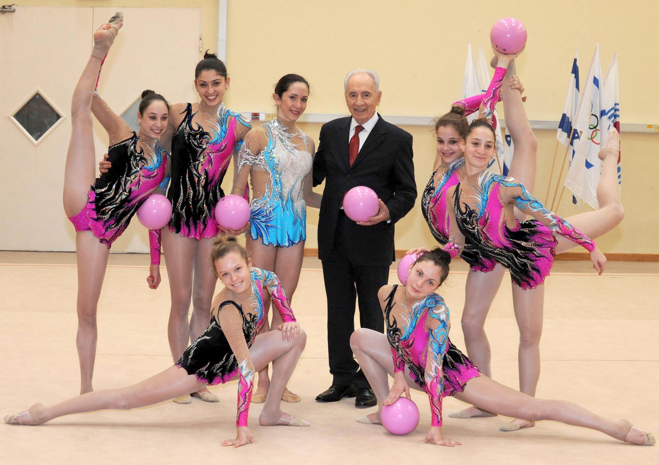 נשיא המדינה יוביל את ספורטאי ישראל לאולימפיאדת לונדון