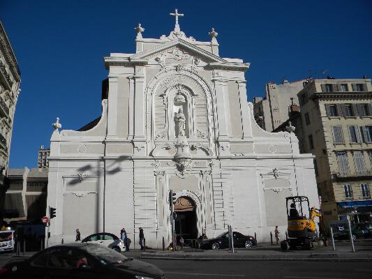 כנסיית Saint Ferreol בנמל הישן במרסי