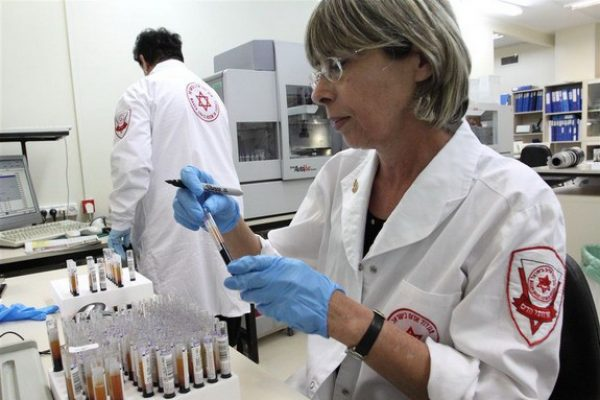 בדיקות מנות הדם במעבדות שרותי הדם