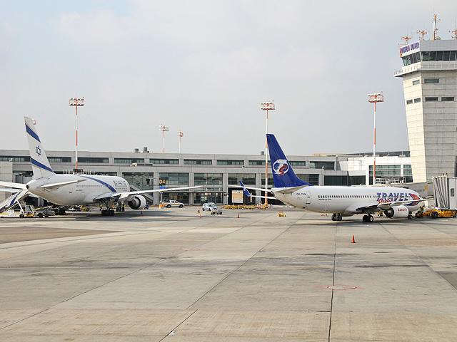 נמל התעופה בן גוריון. מפגין מצויינות. צילום יולה זובריצקי