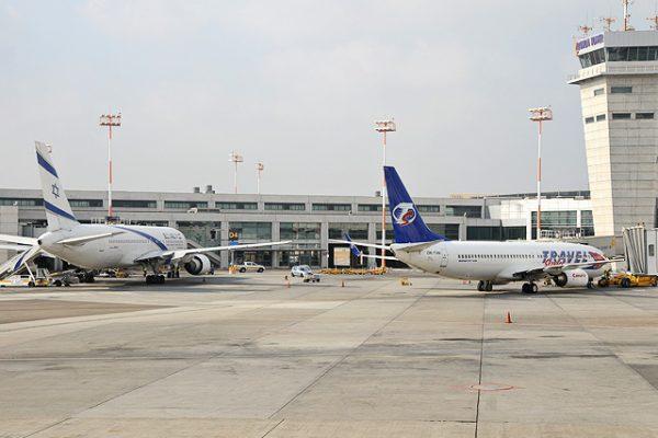 שדה התעופה בנתבג. צילום יולה זובריצקי