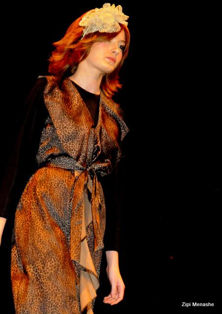 שמלה מנומרת של Racheliz