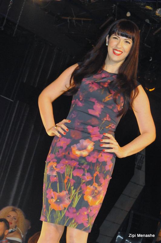 חגית רון רבינוביץ פרחונית בתצוגת גולברי