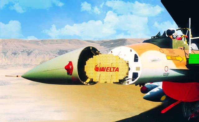 ELM-2032 Airborne Fire Control Radar installed on Fighter