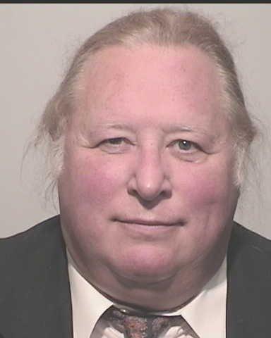 מארק ס. אנדרסון בתמונת המעצר כפי ששוחררה על-ידי משטרת סוסליטו, קליפורניה