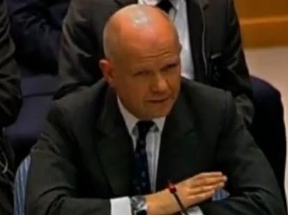 שר החוץ הבריטי וויליאם הייג