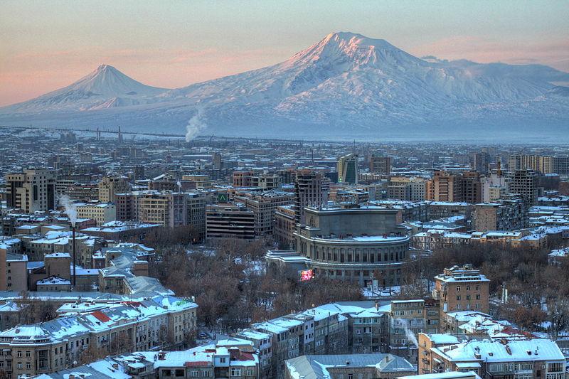 בירת ארמניה ירוואן. חבילות עיר. צילום ויקיפדיה