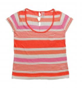 חולצת פסים צבעונית של סאקס