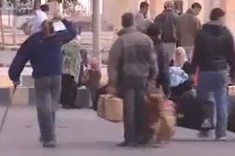 פליטים במעבר סלום, בין לוב למצרים