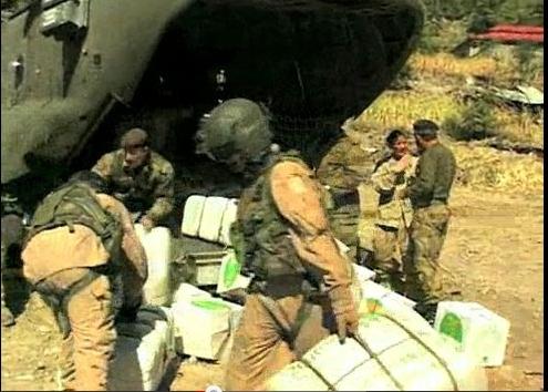 חיילי פקיסטן מסייעים בהאיטי