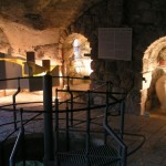הכניסה לפיר וורן בחפירות עיר דוד. צילום עירית רוזנבלום
